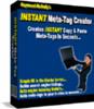 Thumbnail Instant Meta Tag Creator Creates Instant Copy & Paste Meta-t