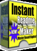 Thumbnail *new* Instant Readme Maker With Master Resale Rights 2011