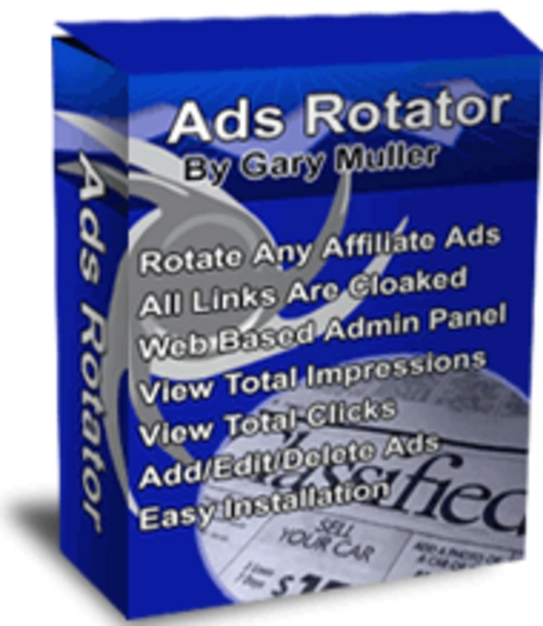 Product picture Adsrotator Script With Resale Rights Free!