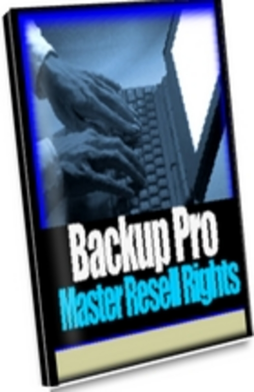 Product picture Backup Pro Is A Easy To Use Backup Program