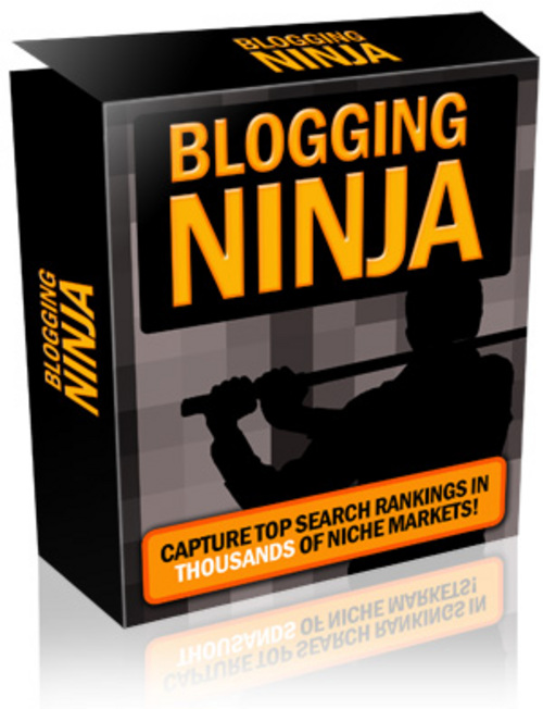 Product picture Blogging Ninja With Mrr