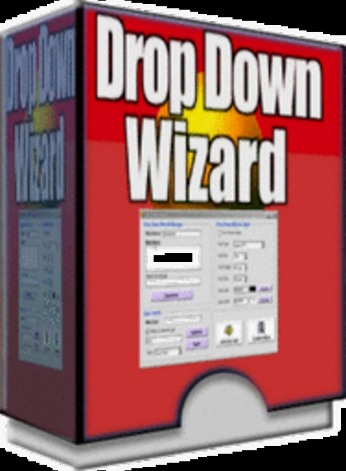 Product picture *new* Drop Down Wiz With Master Resale Rights 2011