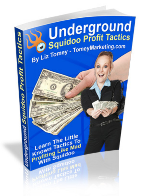 Product picture *new* Underground Squidoo Profit Tactics With Mrr