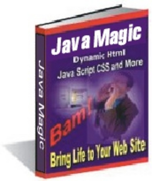 Product picture Java Magic Bring Life To Your Website Javascript Magic - *