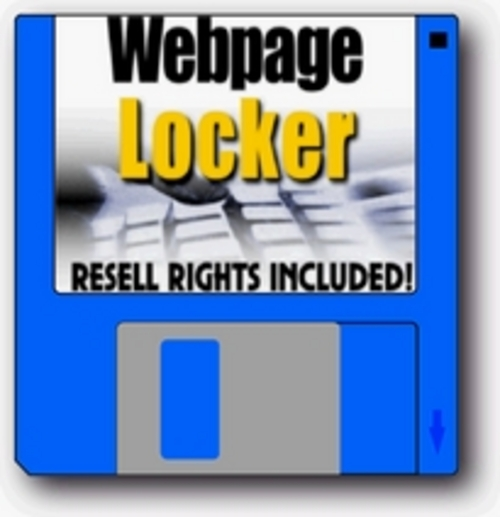 Product picture Webpage Locker Lock And Protect Your Webpages