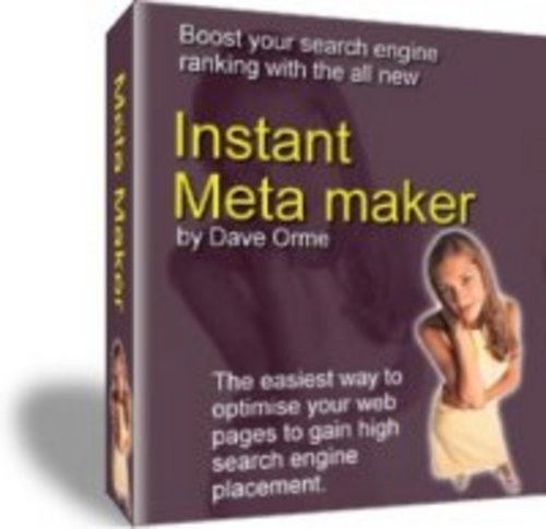 Product picture Instant Meta Maker The Easiest Way To Optimize Your Webpages